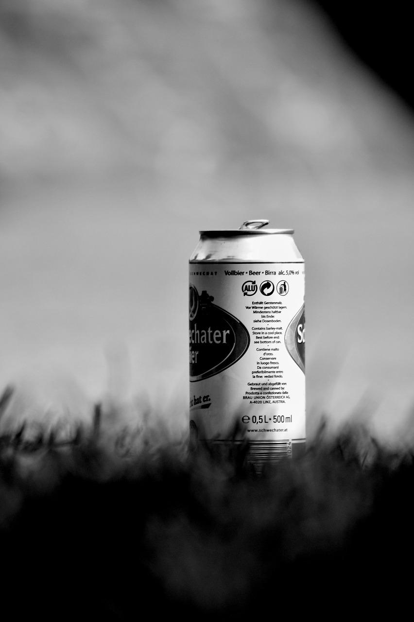 lata de cerveza